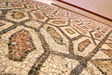 Imagen del mosaico romano