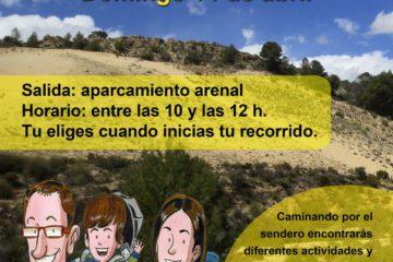 La Concejalía de Medio Ambiente organiza una Ruta interactiva en el Arenal del Almorxó