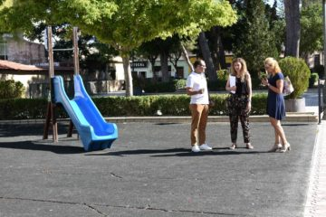 El Ayuntamiento de Petrer destina 30.000 € para adecuar varias zonas de juegos infantiles