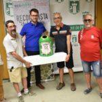 Los festeros de Petrer recuperan 3.800kg de envases de vidrio más en las últimas fiestas que en las de 2018