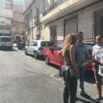 Unas filtraciones detectadas en el alcantarillado de Gabriel Payá, obliga al Ayuntamiento a actuar de emergencia para asegurar el firme de la calzada