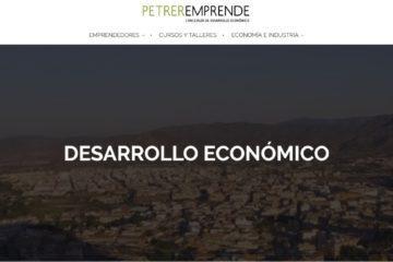 Petreremprende moderniza su web al estilo de las grandes lanzaderas de emprendimiento nacionales
