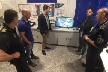 """Petrer """"exporta"""" su modelo de video vigilancia de tráfico de la Policía Local a otros municipios de la provincia"""