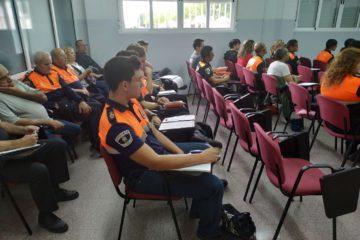 35 voluntaris de Protecció Civil de la província es formen a Petrer amb el curs bàsic que imparteix l'IVASPE