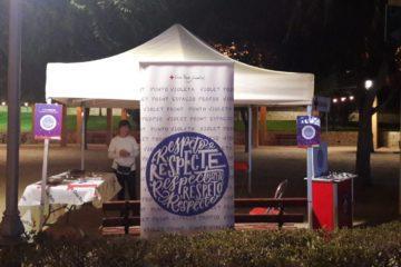El Punt Violeta per a la prevenció de violència masclista informa 657 persones en festes