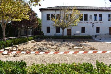 Comencen les obres d'adequació i renovació de diverses zones de jocs infantils de Petrer