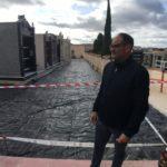L'Ajuntament pavimenta 1.470 metres quadrats de carrers interiors del cementeri