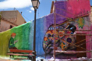 Cultura organiza la primera ruta cultural para conocer los grafitis urbanos del centro histórico