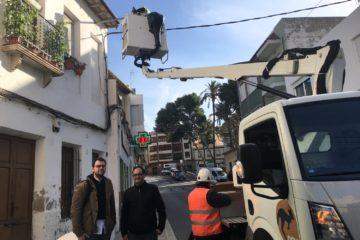 Petrer acomete la sustitución de cerca de 1.000 luminarias con tecnología LED en calles y edificios públicos
