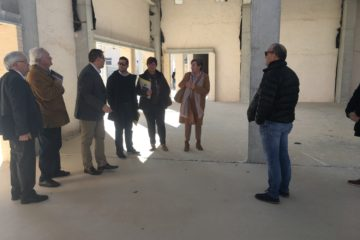 La Consellería adjudica el proyecto del IES Azorín al tiempo que licita las prefabricadas a las que se trasladan provisionalmente en verano