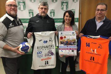El Club Balonmano Petrer arranca la celebración de su 40 aniversario con un partido amistoso benéfico a favor de Sense Barreres
