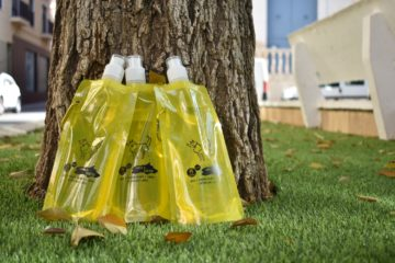 Sanidad repartirá botellas rellenables para el orín de animales, en la romería de San Antón