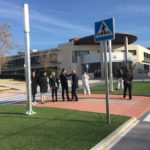 """Restablecido el tráfico en el bulevar de San Jerónimo tras construir una rotonda para solucionar un """"punto negro"""" de accidentes"""