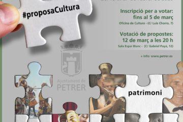 Convocada la séptima edición de Proposa Cultura para decidir, desde la participación de vecinos y colectivos, acciones en el ámbito de la cultura