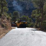 Las obras del camino de Los Chaparrales estarán terminadas en marzo
