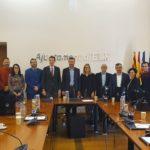 La alcaldesa de Petrer se suma a la Declaración Institucional para la realización de la Feria del Calzado en IFA