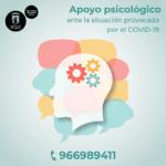 El Ayuntamiento de Petrer activa un servicio especial de apoyo psicológico durante el estado de confinamiento