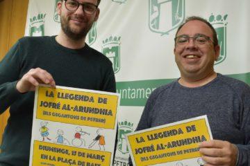 """El alumnado del IES La Canal llenará de música, tradiciones y teatro el centro histórico de Petrer con """"La llegenda dels gegantons"""""""