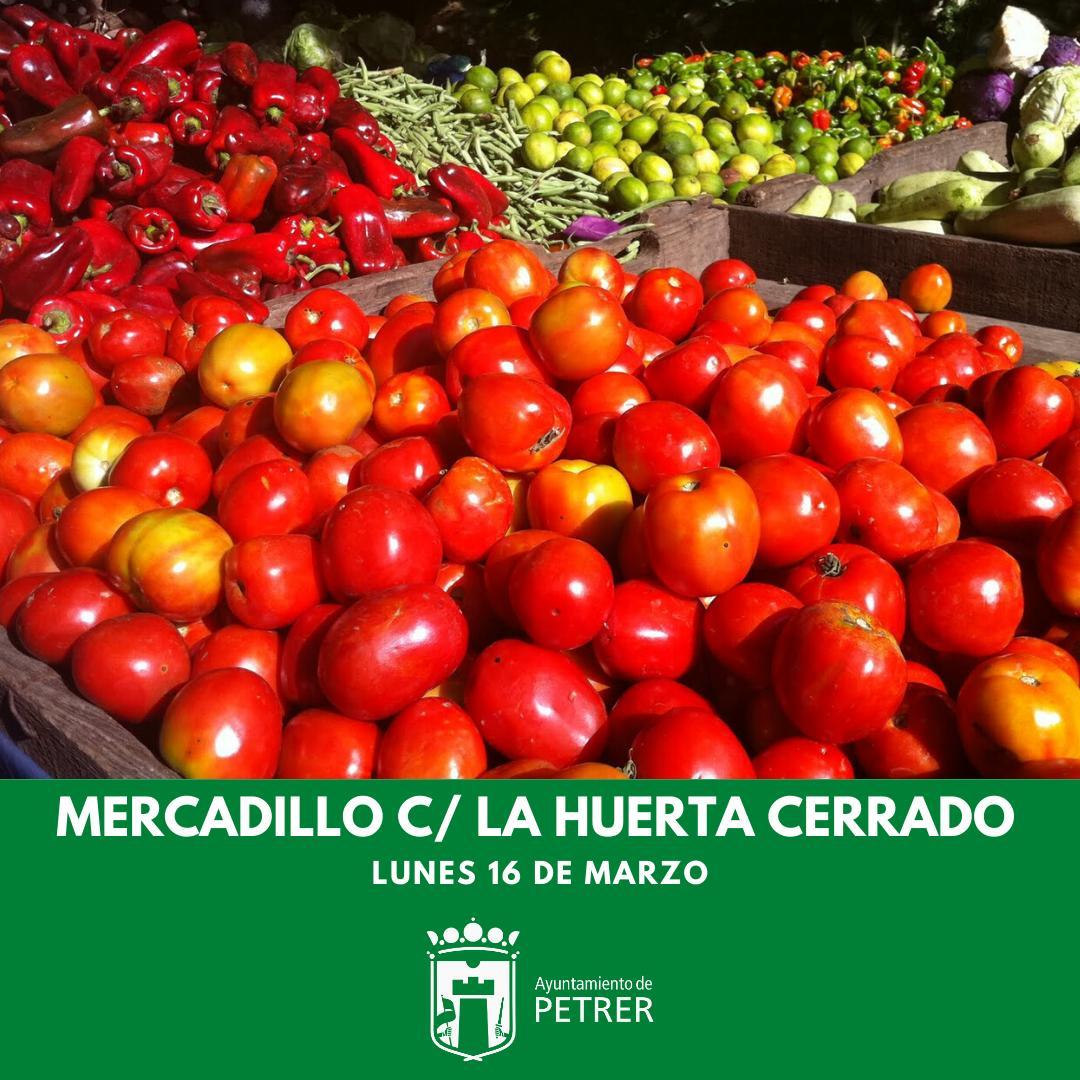Cierre del Mercadillo de la Calle La Huerta y Mercadillos de La Frontera