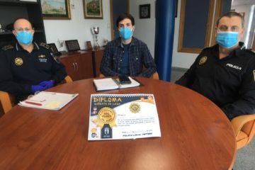 La Policía Local recibe en tres días casi 500 solicitudes para expedir el diploma de buen comportamiento a niños de hasta 12 años