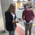 El Ayuntamiento de Petrer distribuirá 1.500 pantallas faciales para el personal del comercio local