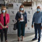 El Ayuntamiento de Petrer adquiere conjuntamente con la empresa local Robert Pietri 50.000 mascarillas para un segundo reparto a los domicilios