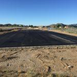 Avanzan las obras de acondicionamiento del solar que acogerá provisionalmente el IES Azorín
