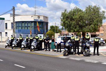Petrer completa la incorporación de 12 nuevos agentes interinos a la plantilla de la Policía Local con los que se reactivan las secciones de Barrios y Tráfico