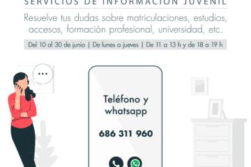La COMIJ del Alto y Medio Vinalopó crea un servicio de asesoramiento educativo telemático para jóvenes