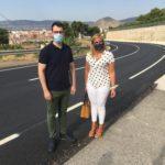 Finalizan las obras de adecuación y refuerzo de la carretera CV-837 de Petrer a Catí con una inversión de 261.016 €