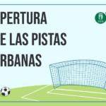 Petrer reabre las 11 pistas urbanas para la práctica deportiva con medidas de seguridad