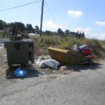 Petrer pretende atajar el abandono de enseres y vertidos en la calle con sanciones de hasta 1.500 euros