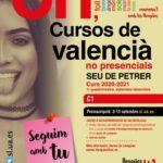 La Seu Universitària de Petrer abre el plazo de preinscripción para cursar el C1 de valenciano en modalidad online