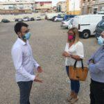 Petrer acondiciona un solar municipal como parking para 50 vehículos en la avenida de Madrid
