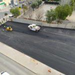 Petrer finaliza el parking de 60 plazas de la avenida de Madrid con el trabajo de asfaltado