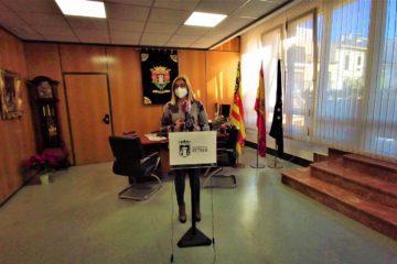 """La alcaldesa de Petrer hace un nuevo llamamiento a la población ante el """"preocupante"""" incremento de casos de Covid"""