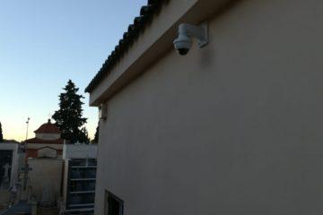 Petrer instala 13 cámaras de vigilancia en los dos parques municipales y el cementerio para mejorar la seguridad ciudadana