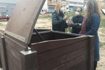 Petrer implanta una isla de compostaje comunitario para dar vida a parques y zonas verdes del municipio