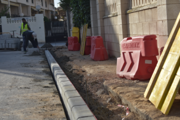 Petrer lleva a cabo obras de mejora de accesibilidad en varias calles del barrio San José