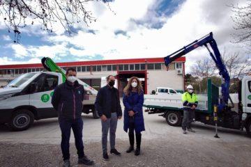 Petrer incorpora a su flota dos nuevos camiones para el mantenimiento y mejora de la ciudad con una inversión de 103.000 €