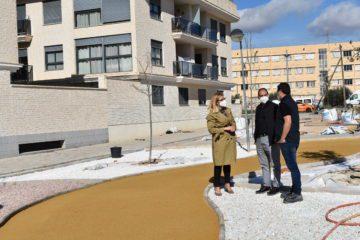 Petrer finaliza el acondicionamiento de la zona verde de la calle El Portal