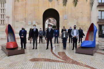 Los principales municipios productores de calzado y marroquinería de España suscriben por unanimidad en Elche una declaración en la que reclaman más apoyo al sector