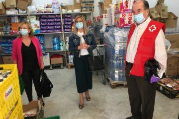 Servicios Sociales destina 10.000 euros a un nuevo convenio con Cruz Roja para ayudas de primera necesidad