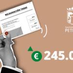 Petrer recapta en 2020 un 40% més a les grans empreses tecnològiques de subministrament de gas, electricitat i telefonia