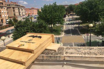 Petrer instala 33 cajas-refugio para murciélagos en parques y edificios públicos para combatir plagas