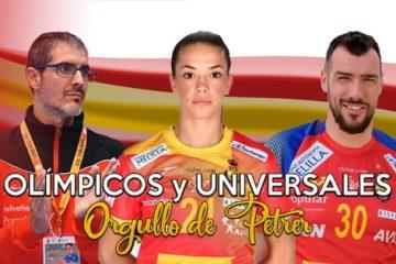 Las familias de los Olímpicos les mandan un mensaje de suerte y ánimo desde Petrer