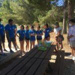 60 jóvens participen des de hui en un programa que promou un oci responsable i respectuós amb els paratges naturals