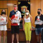L'Ajuntament de Petrer homenatja els seus 3 esportistes olímpics amb una recepció institucional