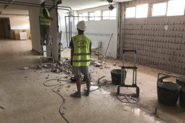 El Ayuntamiento invierte en la escuela infantil Els Peixos 100.000 € para dotarla de nuevos espacios y un comedor