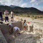 Els sondejos arqueològics de Territori Bitrir trauen a la llum els murs d'una possible edificació de l'Alqueria de Puça